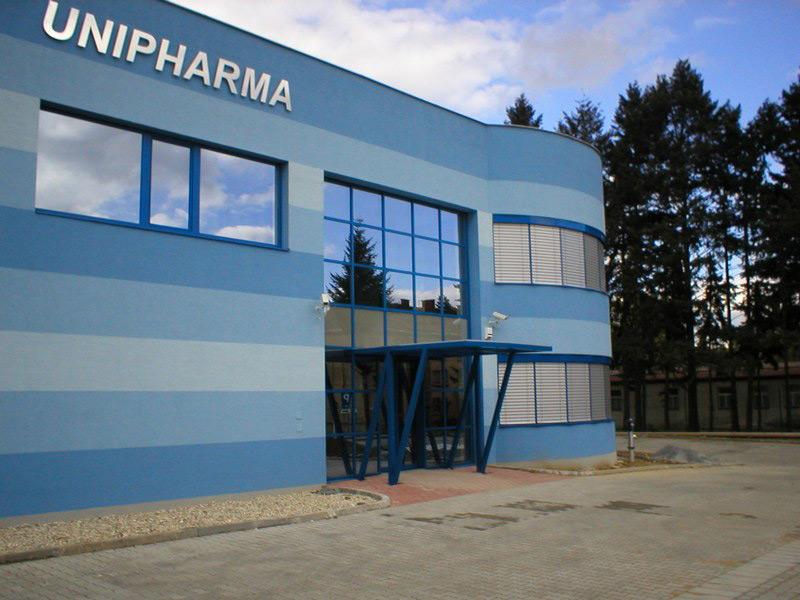 ODS Unipharma, Prešov, exteriérové žalúzie | http://www.ksystem.sk/sk/produkty/zaluzie/exterierove-zaluzie/exterierove-zaluzie-prominent.html