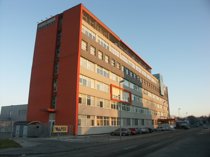 Alcatel, Bratislava, interiérové žalúzie | http://www.ksystem.sk/sk/produkty/zaluzie/interierove-horizontalni-zaluzie/