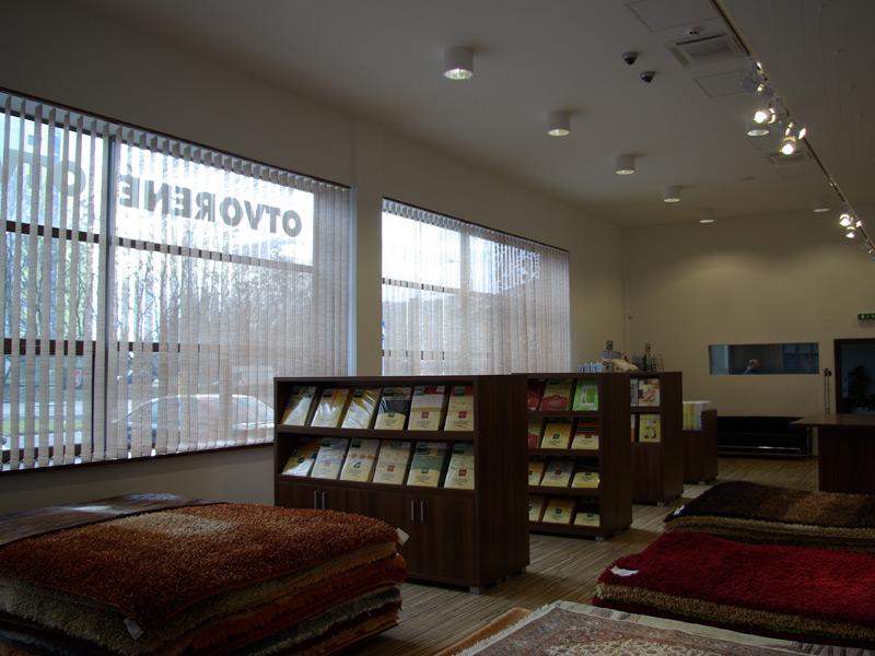 Nábytok Albero, Bratislava, vertikálne žalúzie |  http://www.ksystem.sk/sk/produkty/zaluzie/interierove-vertikalni-zaluzie/