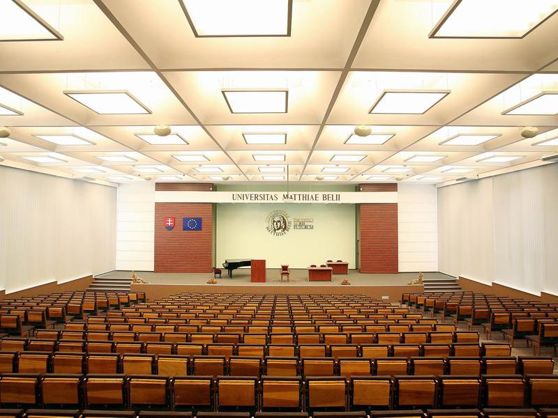 Univerzita MB, Banská Bystrica, vertikálne žalúzie | http://www.ksystem.sk/sk/produkty/zaluzie/interierove-vertikalni-zaluzie/