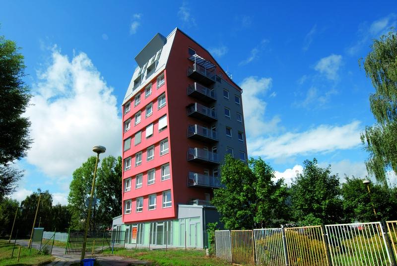 Bytový dom Orvis, Košice, exteriérové žalúzie | http://www.ksystem.sk/sk/produkty/zaluzie/exterierove-zaluzie/exterierove-zaluzie-prominent.html