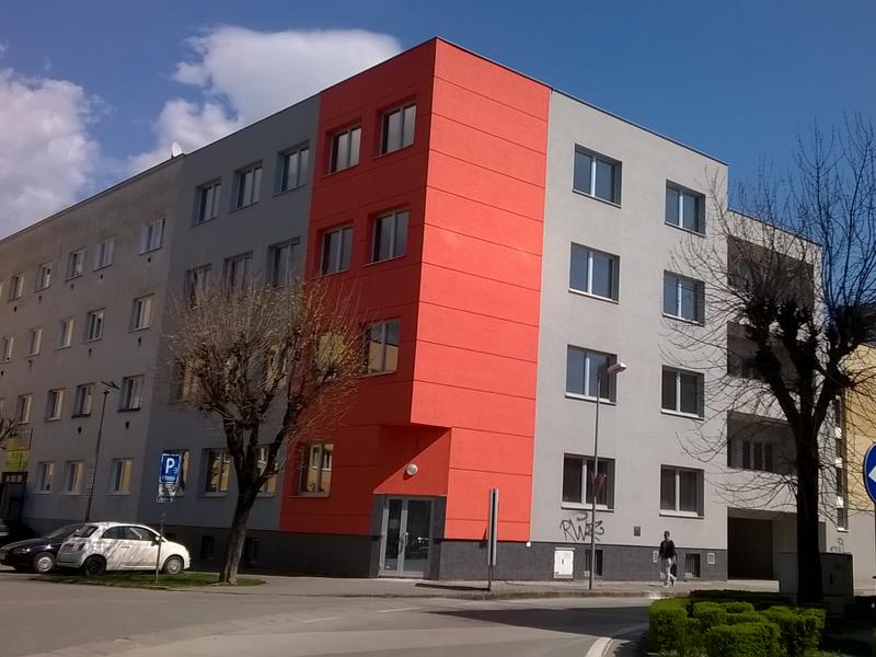 Administratívna budova, Žilina, interiérové žalúzie Basic Design